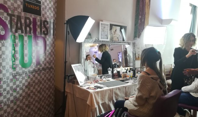 Maquillaje en Say Yes Feria de Bodas